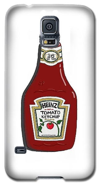 Ketchup Galaxy S5 Case by George Pedro