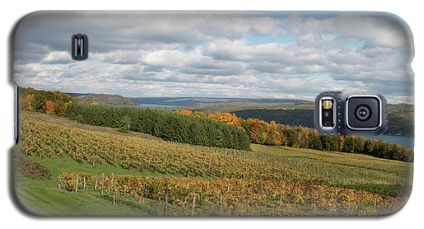 Galaxy S5 Case featuring the photograph Keuka In Autumn by Joshua House