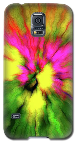 Abstraction Of Waves Galaxy S5 Case