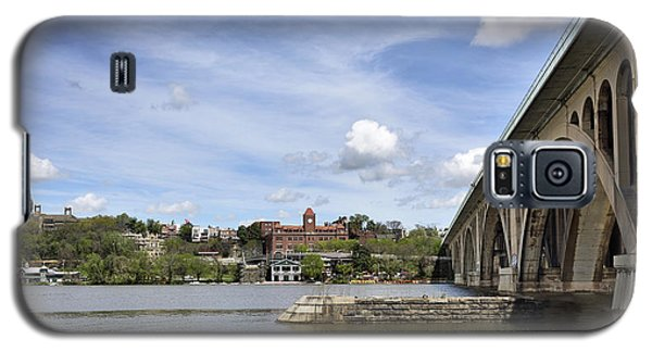 Key Bridge Into Georgetown Galaxy S5 Case by Brendan Reals