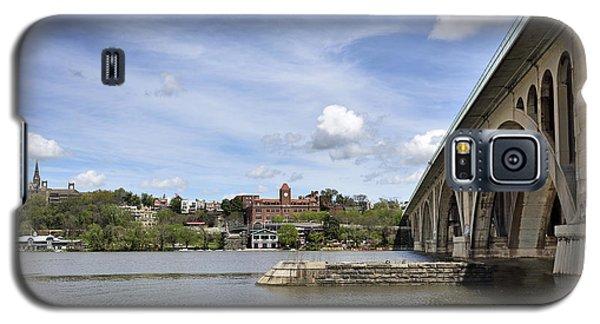 Key Bridge Into Georgetown Galaxy S5 Case by Brendan Reals