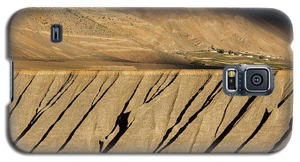 Galaxy S5 Case featuring the photograph Key Monastery And Spiti Valley, Spiti, 2008 by Hitendra SINKAR