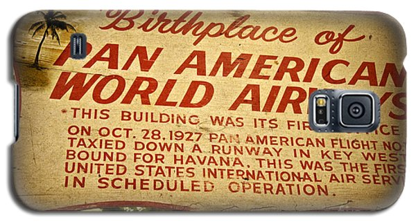 Key West Florida - Pan American Airways Birthplace Sign Galaxy S5 Case