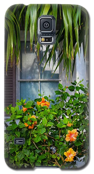 Key West Garden Galaxy S5 Case
