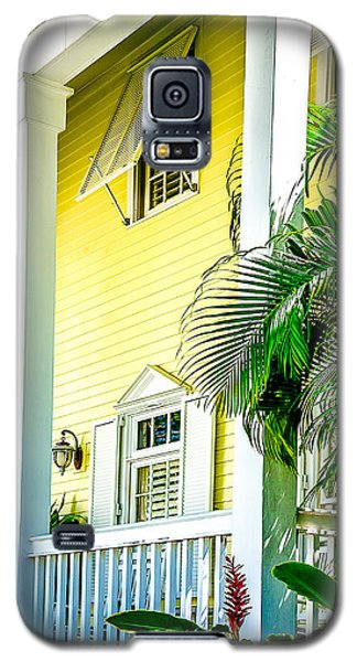 Galaxy S5 Case featuring the photograph Key West Homes 15 by Julie Palencia