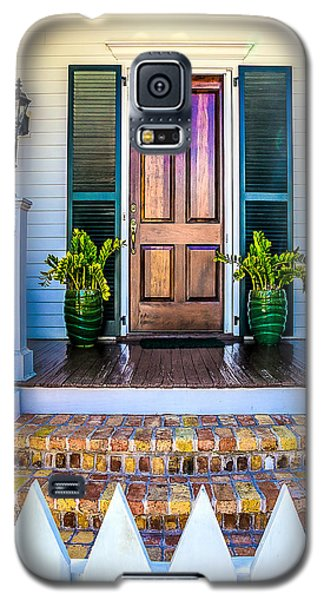 Galaxy S5 Case featuring the photograph Key West Homes 16 by Julie Palencia