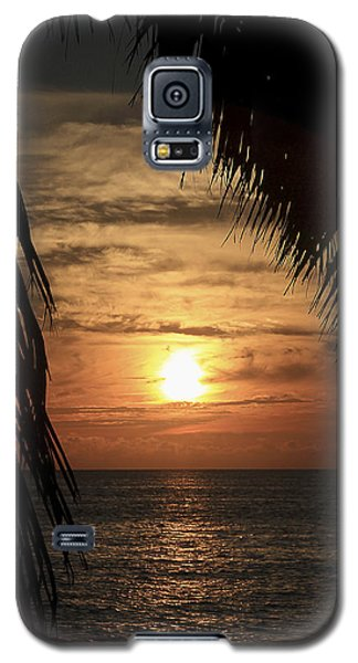 Key West Palm Sunset 2 Galaxy S5 Case