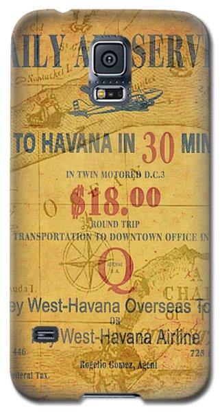 Key West To Havana Galaxy S5 Case