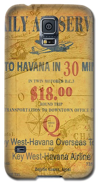 Key West To Havana Galaxy S5 Case