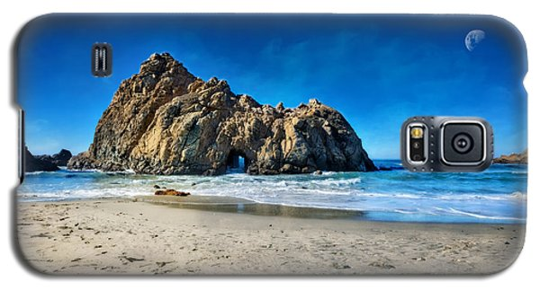 Galaxy S5 Case featuring the photograph Keyhole Rock At Pheiffer Beach #14 - Big Sur, Ca by Jennifer Rondinelli Reilly - Fine Art Photography