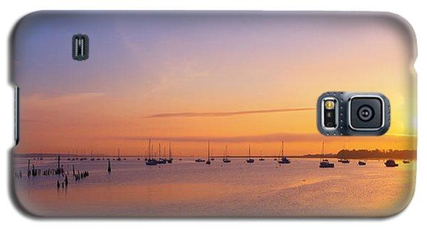 Keyport Harbor Sunrise  Galaxy S5 Case