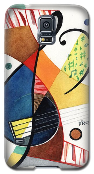 Keys And Clef Galaxy S5 Case