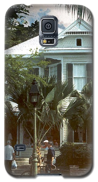 Galaxy S5 Case featuring the photograph Keywest by Steve Karol