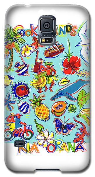 Kia Orana Cook Islands Galaxy S5 Case