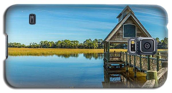 Kiawah Island Boathouse Panoramic Galaxy S5 Case