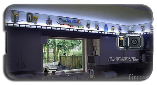 Kichen Frieze With Bill's Recyling Art Galaxy S5 Case