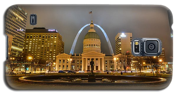 Kiener Plaza And The Gateway Arch Galaxy S5 Case