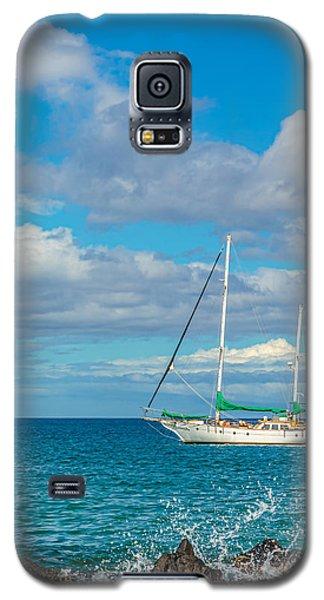 Kihei Sailboat 4 Galaxy S5 Case