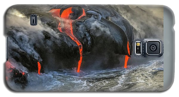 Kilauea Volcano Hawaii Galaxy S5 Case