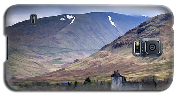 Kilchurn Castle On Loch Awe In Scotland Galaxy S5 Case