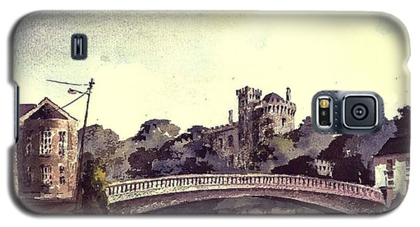 Kilkenny Castle On The Nore River. Galaxy S5 Case