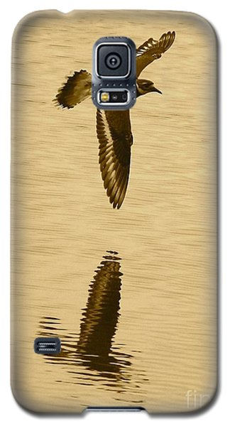 Killdeer Over The Pond Galaxy S5 Case by Carol Groenen