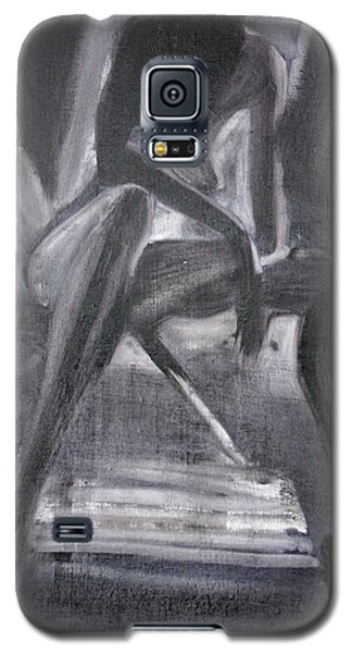 Galaxy S5 Case featuring the painting Killer by Jarko Aka Lui Grande