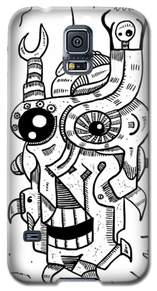 Killer Robot Galaxy S5 Case