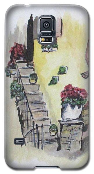 Kimberly's Castellabate Flowers Galaxy S5 Case