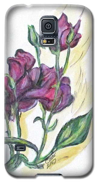 Kimberly's Spring Flower Galaxy S5 Case
