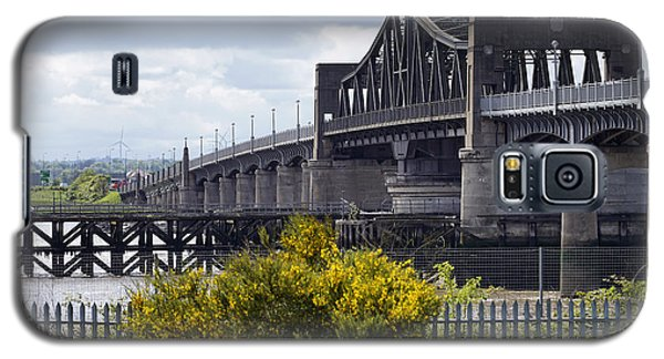 Galaxy S5 Case featuring the photograph Kincardine Bridge by Jeremy Lavender Photography