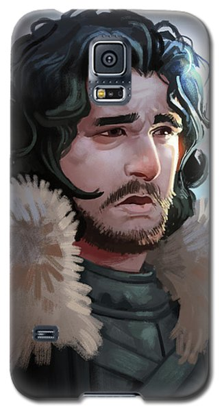 Galaxy S5 Case featuring the painting King In The North by Michael Myers