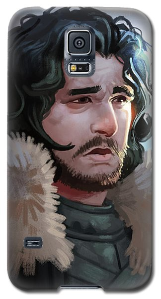 King In The North Galaxy S5 Case by Michael Myers