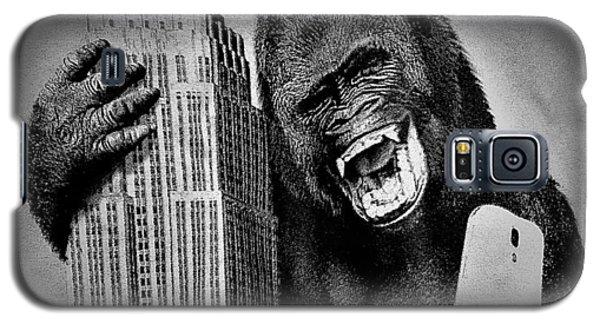 King Kong Selfie B W  Galaxy S5 Case