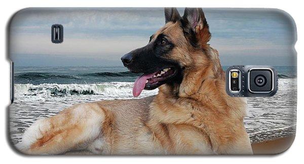 King Of The Beach - German Shepherd Dog Galaxy S5 Case