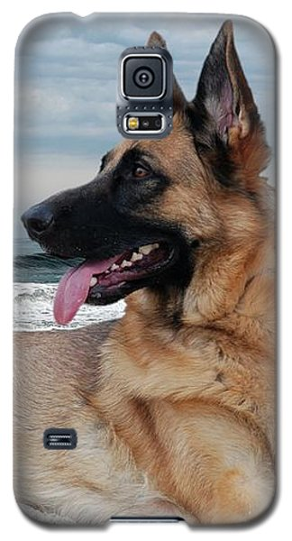 King Of The Beach - German Shepherd Dog Galaxy S5 Case