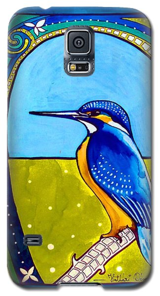 Kingfisher Galaxy S5 Case by Dora Hathazi Mendes