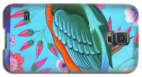 Kingfisher Galaxy S5 Case by Jane Tattersfield