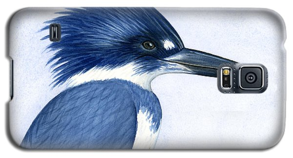 Kingfisher Portrait Galaxy S5 Case by Charles Harden