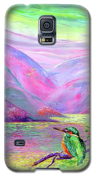 Kingfisher, Shimmering Streams Galaxy S5 Case