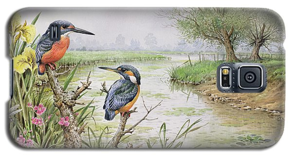 Kingfishers On The Riverbank Galaxy S5 Case