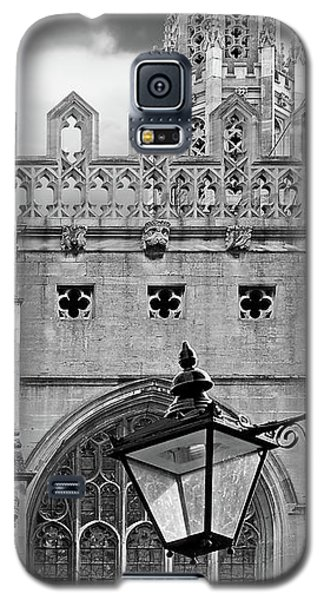 Galaxy S5 Case featuring the photograph Kings College Chapel Cambridge Exterior Detail by Gill Billington