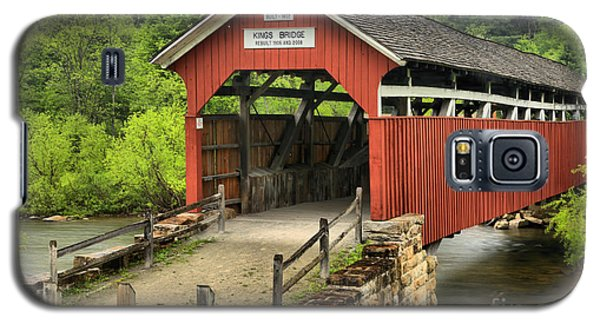 Kings Covered Bridge Somerset Pa Galaxy S5 Case