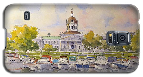 Kingston City Hall And Harbour Galaxy S5 Case