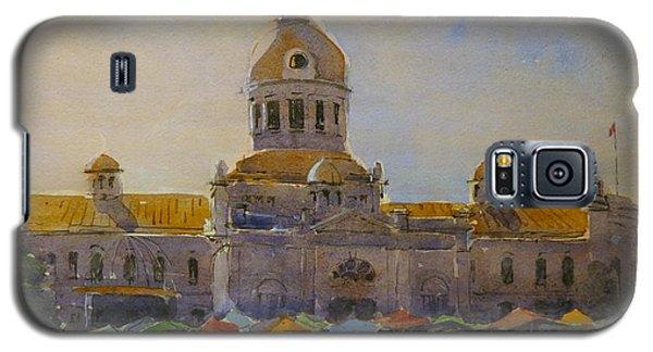 Kingston-city Hall Market Morning Galaxy S5 Case