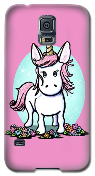 Kiniart Unicorn Sparkle Galaxy S5 Case by Kim Niles
