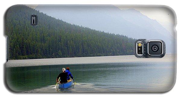 Kintla Lake Paddlers Galaxy S5 Case