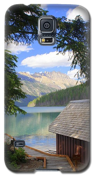 Kintla Lake Ranger Station Glacier National Park Galaxy S5 Case