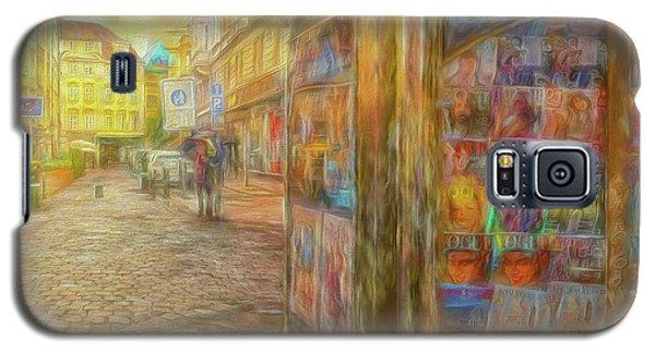 Kiosk - Prague Street Scene Galaxy S5 Case