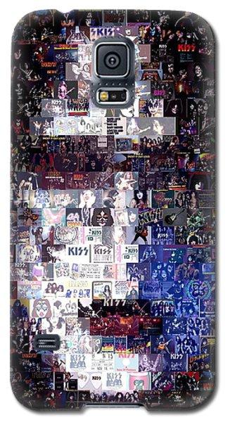 Kiss Ace Frehley Mosaic Galaxy S5 Case